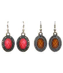 Shop Online Oxidised Metal Dangle Earrings