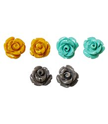 Acrylic Rose Earrings