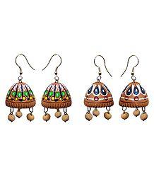 Shop Online Terracotta Jhumka Earrings