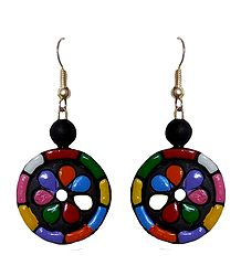 Black Terracotta Earrings