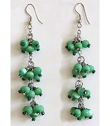 Buy Online Cheap Green Bead Earrings