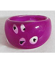 Magenta Acrylic Ring