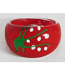 Red Acrylic Ring