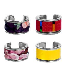 Set of 4 Adjustable Rings