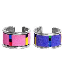 Set of 2 Adjustable Rings