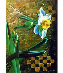 Buy Daffodil Flower Poster