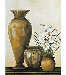 Still Life Flower Vase Picture