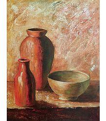 3 Flower Vases