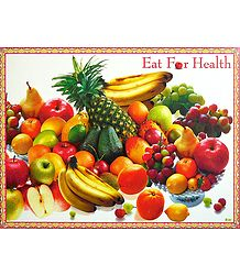 Buy Colorful Fruits - Unframed Poster