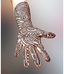 Beautiful Mehendi Art - Photographic Print