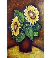 Pair of Sunflower - Buy Unframed Poster
