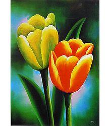 Tulips Poster - Shop Online