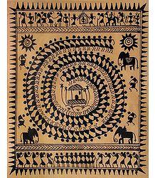 The Spiral - Warli Tribal Dance