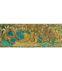 Vishnu's Anantashayan