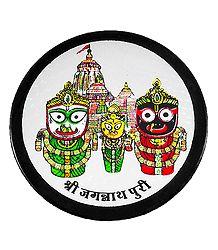 Jagannath, Balaram, Subhadra Metal Magnet