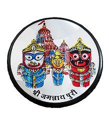 Jagannath, Balaram Suhadra Metal Magnet
