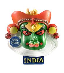 Buy Stone Dust Kathakali Face Magnet