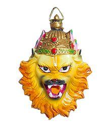 Narasimha Avatar Face Magnet