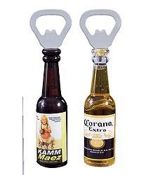 Set of 2 Fridge Magnet with Bottle Opener