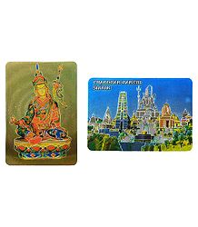 Padmasambhava and Char Dham, Sikkim - Metal Magnets