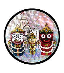 Jagannath, Balaram, Suhadra Metal Magnet