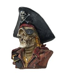 Half Bust Skeleton Captain