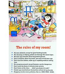 Rules of My Room