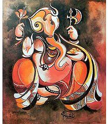 Artistic Lord Ganesha