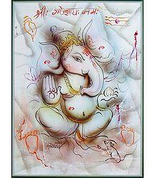 Pencil Sketch Ganesha