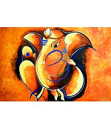Artistic Ganesha
