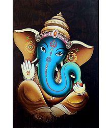 Lord Vinayak - Unframed Poster