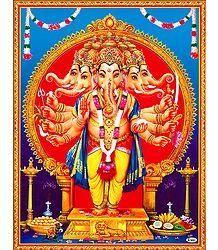 Panchamukhi Ganesha