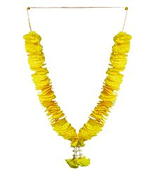 Yellow Cloth Garland