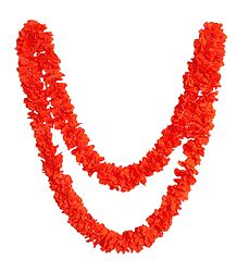Saffron Cloth Garland