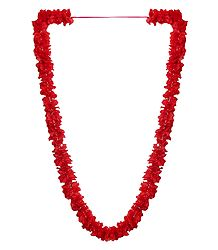 Red Cloth Garland