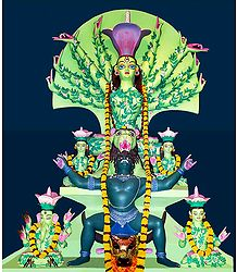Devi Durga as Mother Nature