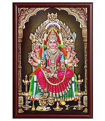 Mariamman on Laminated Board