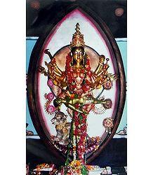 Durga - Symbol of Feminine Force