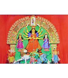 Mahishasuramardini Durga - Photographic Print