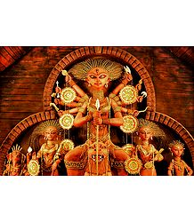Buy Photographic Print of Durga