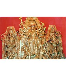 Durga - The Slayer of Mahishasura