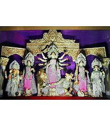 Goddess Durga - Photographic Print