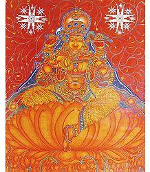 Goddess Lakshmi - Mural Poster