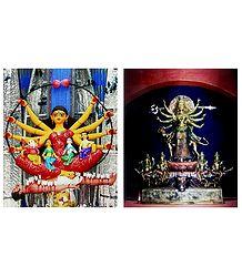 Goddess Durga - Set of 2 Posters