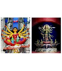 Goddess Durga - Set of 2 Posters