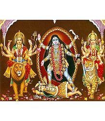Bhagawati, Kali and Vaishno Devi