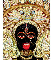 Face of Goddess Kali - Photographic Print