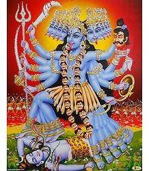 Mahakali - Glitter Poster