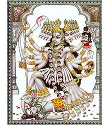 Buy Mahakali Poster with Plastic Lamination