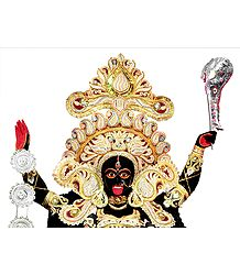 Goddess Kali - Photographic Print